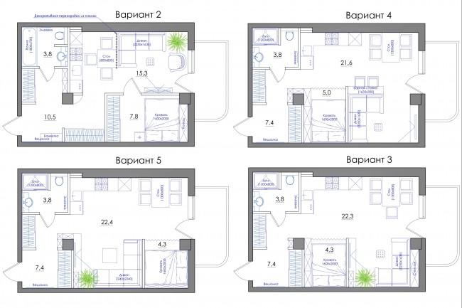 Планировка квартиры или жилого дома, перепланировка и визуализация 76 - kwork.ru