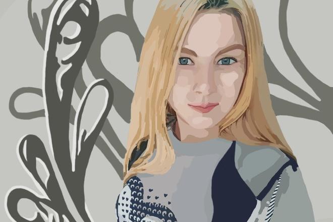 Нарисую портрет в растровой или векторной графике 9 - kwork.ru