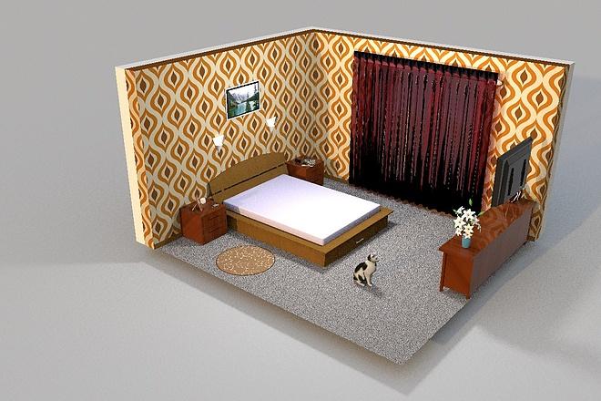 3D визуализация помещений 22 - kwork.ru