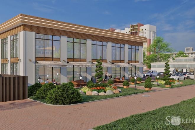3D Визуализация коммерческих и административных зданий 5 - kwork.ru