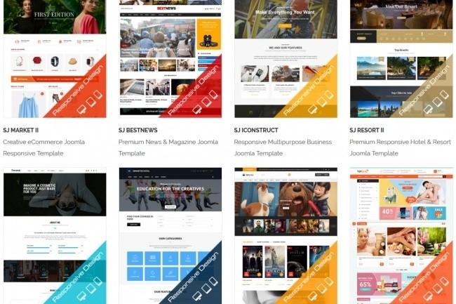 Joomla премиум набор шаблонов и расширений 7 - kwork.ru