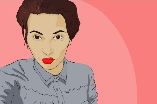 Нарисую портрет по фотографии 3 - kwork.ru