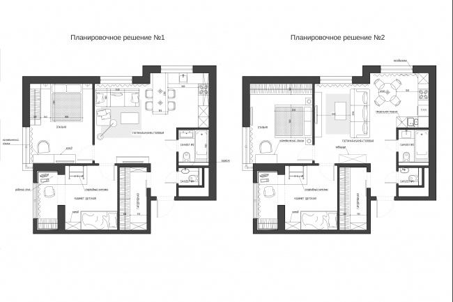 Планировочное решение вашего дома, квартиры, или офиса 65 - kwork.ru