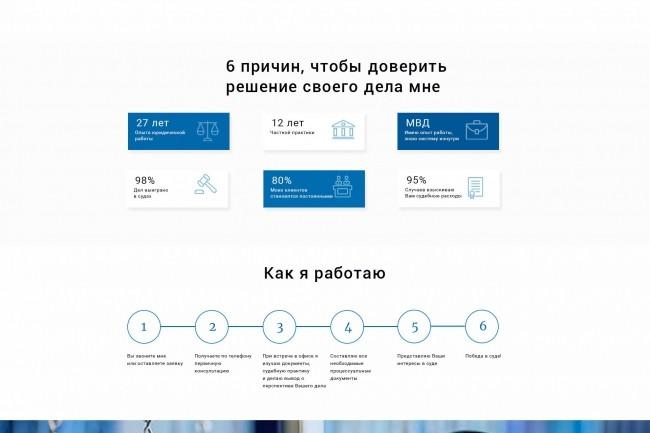 Разработаю качественный дизайн Landing page 4 - kwork.ru