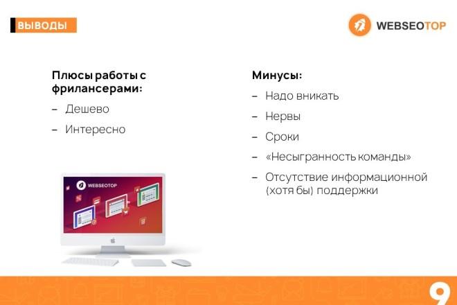Красиво, стильно и оригинально оформлю презентацию 35 - kwork.ru
