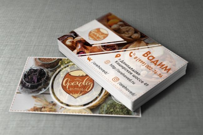 Разработаю красивый, уникальный дизайн визитки в современном стиле 107 - kwork.ru