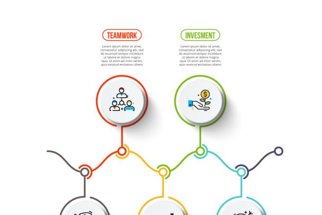 Набор инфографики. 13 тематик, 800 шаблонов, 2 пакета иконок 21 - kwork.ru