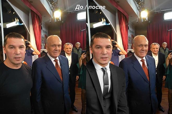 Выполню фотомонтаж в Photoshop 96 - kwork.ru