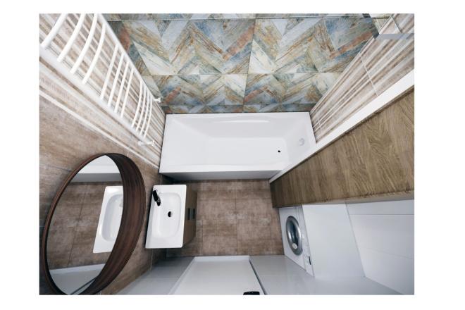 Дизайн ванной комнаты 6 - kwork.ru