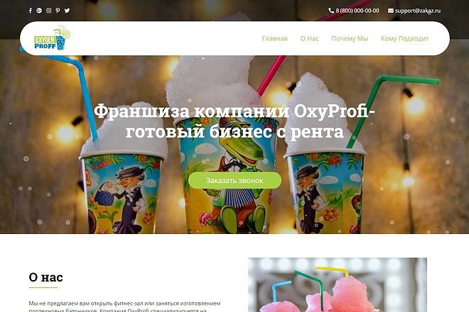 Landing Page с 0 + дизайн 67 - kwork.ru