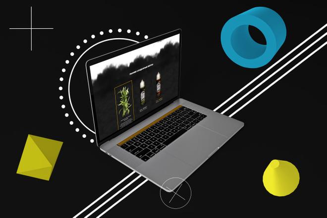 Создам уникальный дизайн страницы 1 - kwork.ru