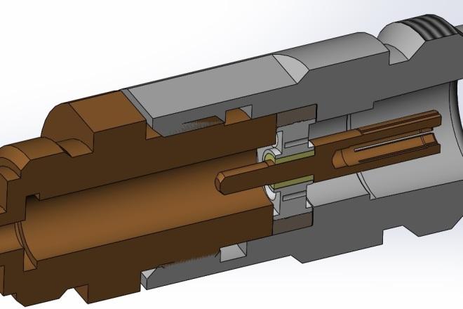 3D проекты, чертежи в соответствие с ГОСТ 3 - kwork.ru