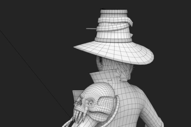 3D персонаж для игрового проекта 2 - kwork.ru