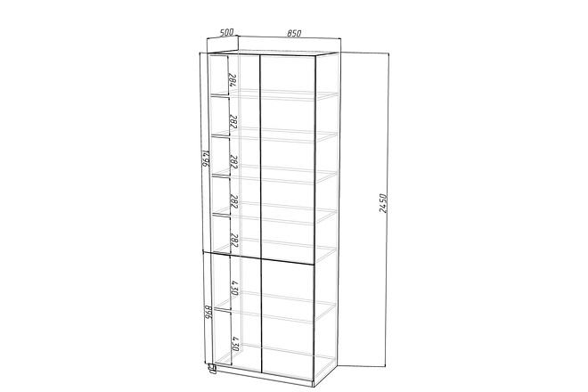 Конструкторская документация для изготовления мебели 69 - kwork.ru