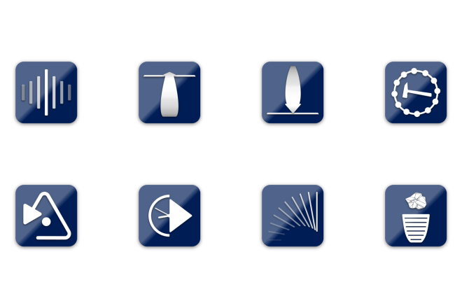 Иконки в уникальном стиле, для сайта и приложения Вашего Бренда 11 - kwork.ru