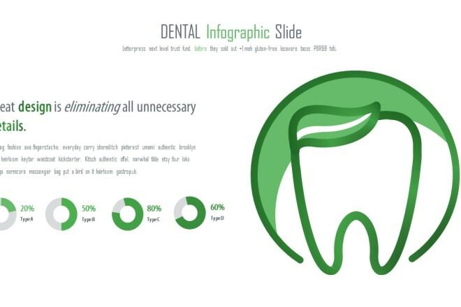 Инфографика на медицинскую тему. Шаблоны PowerPoint 11 - kwork.ru