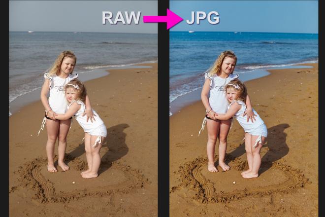Для проф. фотографов - конвертация фото из RAW в JPG, 100 штук 17 - kwork.ru