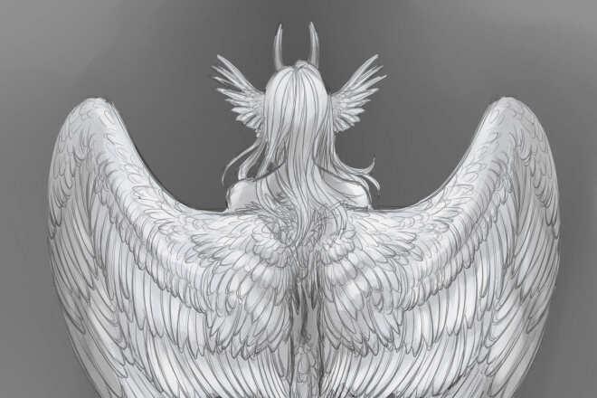 Быстро нарисую персонажа, иллюстрацию в любом стиле 1 - kwork.ru