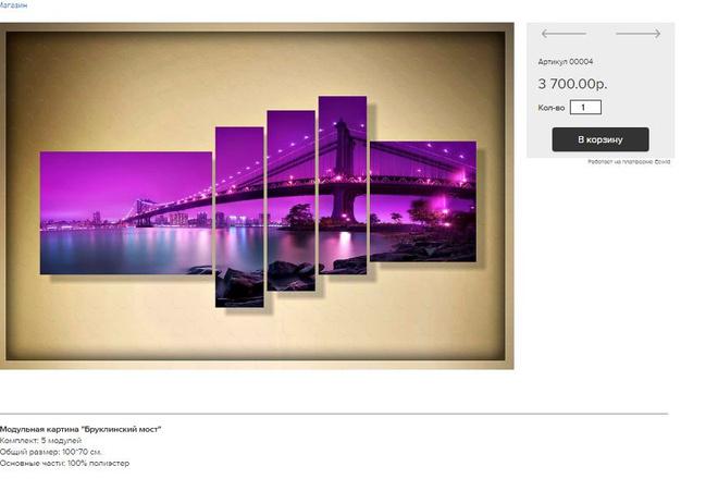 Создам интернет-магазин на платформе Ecwid 6 - kwork.ru