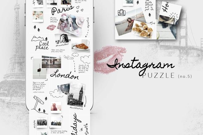 25000 шаблонов для Instagram, Вконтакте и Facebook + жирный Бонус 25 - kwork.ru