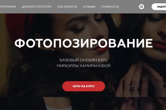 Качественная копия Landing Page на Tilda 6 - kwork.ru