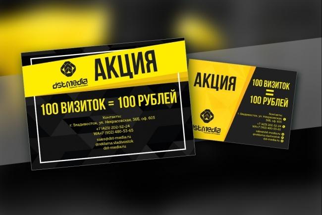 Листовка или флаер 2 варианта 30 - kwork.ru