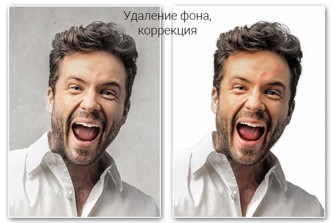 Удаление фона, дефектов, объектов 56 - kwork.ru