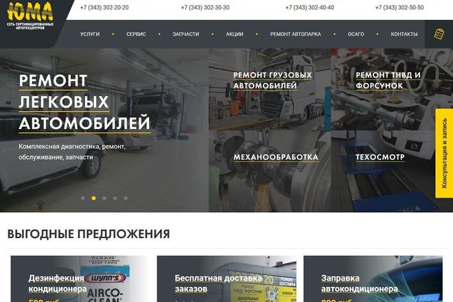 Копирование сайтов практически любых размеров 17 - kwork.ru