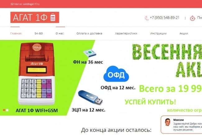 Скопирую любой сайт в html формат 48 - kwork.ru