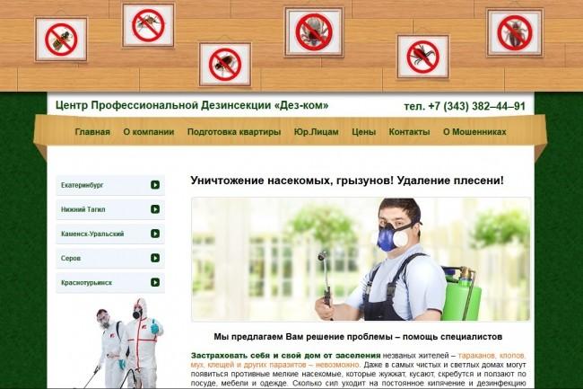 Скопирую любой сайт в html формат 40 - kwork.ru