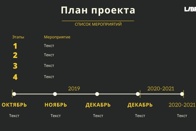 Стильный дизайн презентации 218 - kwork.ru