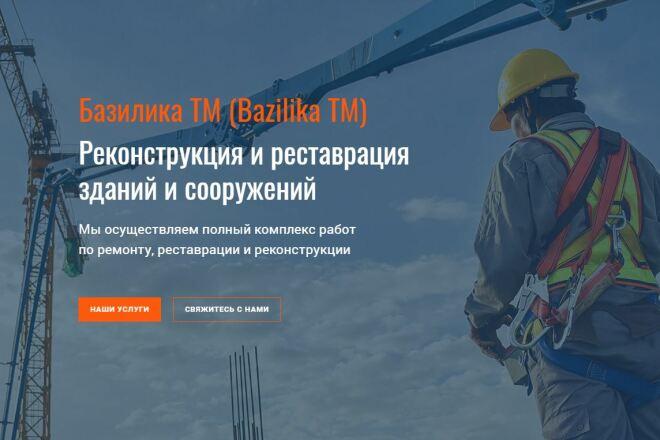 Скопировать Landing page, одностраничный сайт, посадочную страницу 61 - kwork.ru