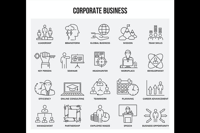 Набор инфографики. 13 тематик, 800 шаблонов, 2 пакета иконок 1 - kwork.ru