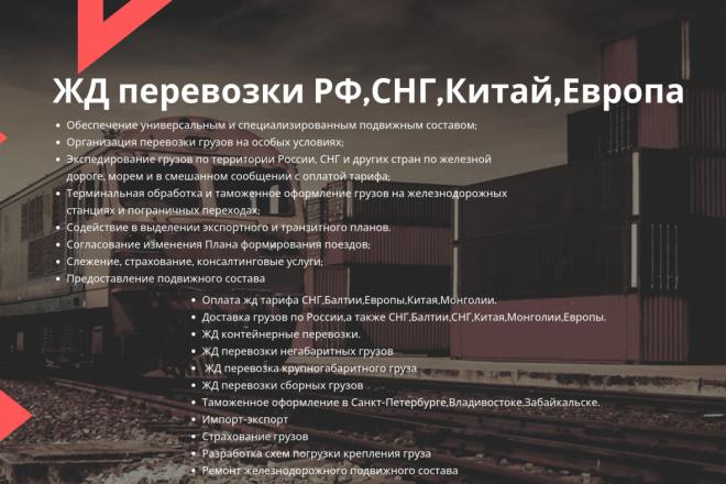 Стильный дизайн презентации 301 - kwork.ru