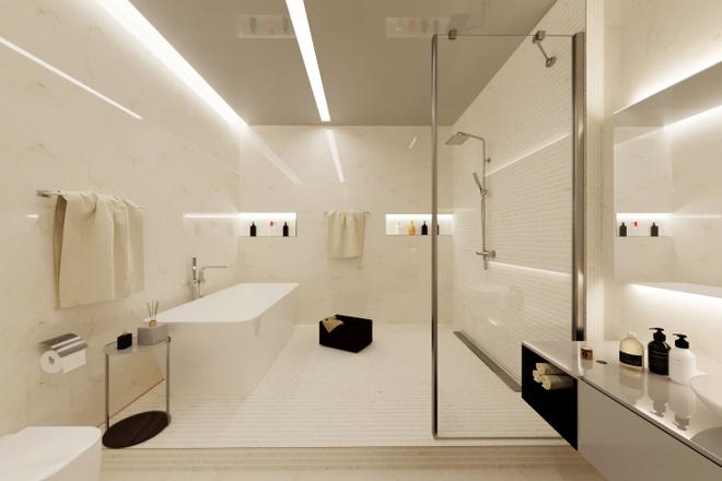 Дизайн ванной комнаты 2 - kwork.ru