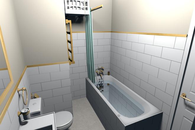 3d визуализация квартир и домов 57 - kwork.ru