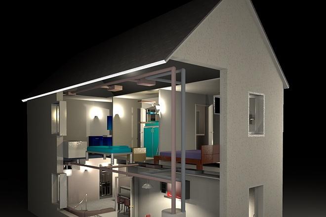 3d визуализация квартир и домов 20 - kwork.ru