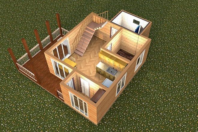 3D визуализация помещений 14 - kwork.ru