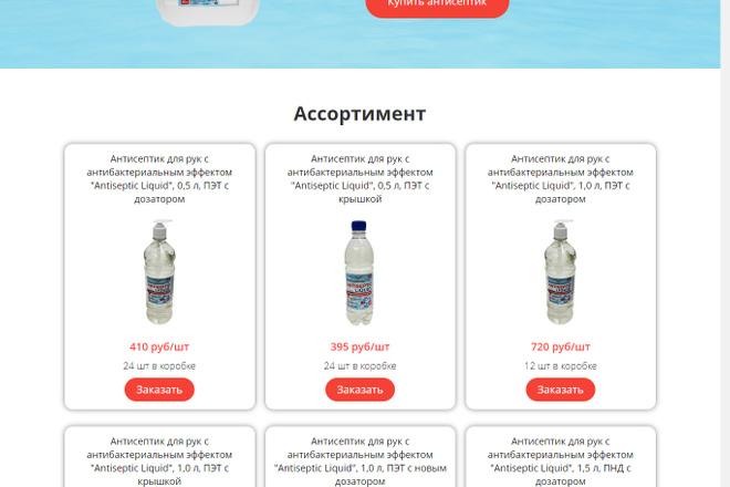 Разработка Landing page LPmotor 3 - kwork.ru
