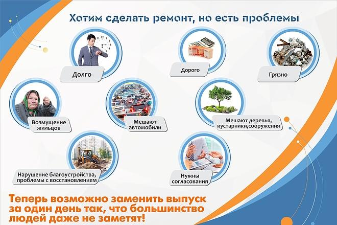 Дизайн брошюры, буклета, лифлета 2 - kwork.ru