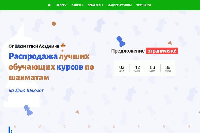 Профессионально и недорого сверстаю любой сайт из PSD макетов 60 - kwork.ru