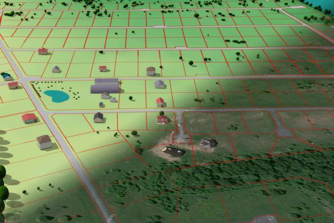 Выполню трехмерную модель местности 2 - kwork.ru