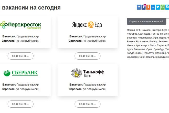 Доработка и исправления верстки. CMS WordPress, Joomla 35 - kwork.ru