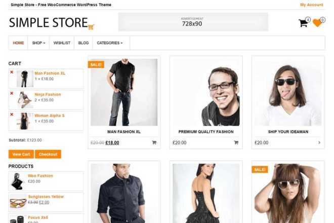 Сделаю интернет-магазин на Wordpress с использованием шаблона 3 - kwork.ru