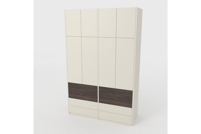Проект корпусной мебели, кухни. Визуализация мебели 43 - kwork.ru