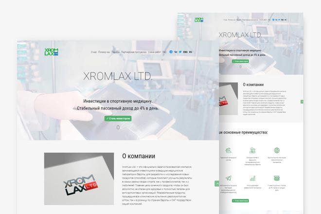 Адаптивный лендинг с индивидуальным дизайном на WordPress 33 - kwork.ru
