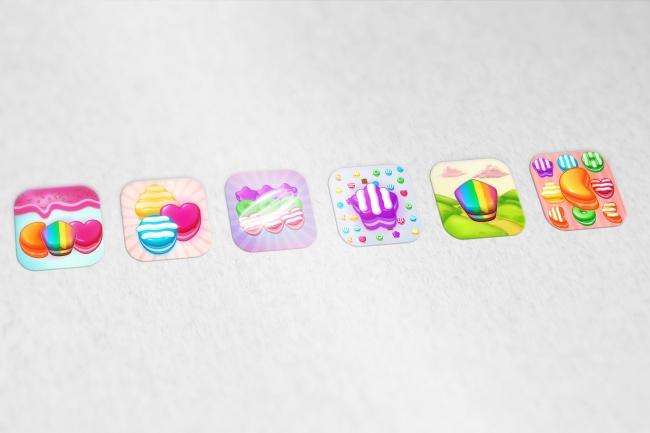 Создам 5 иконок в любом стиле, для лендинга, сайта или приложения 100 - kwork.ru