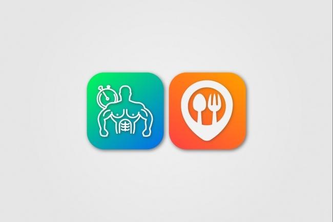 Создам 5 иконок в любом стиле, для лендинга, сайта или приложения 99 - kwork.ru