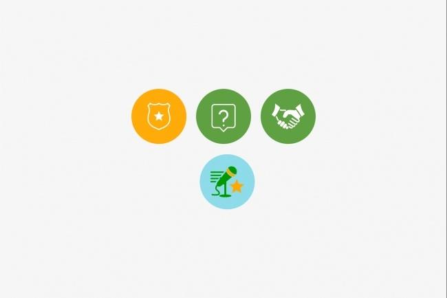 Создам 5 иконок в любом стиле, для лендинга, сайта или приложения 98 - kwork.ru