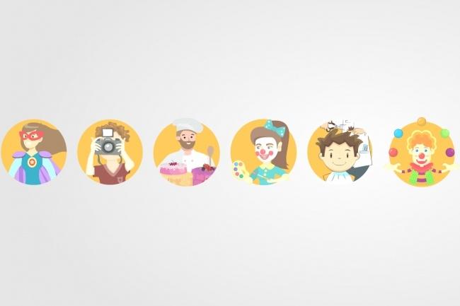 Создам 5 иконок в любом стиле, для лендинга, сайта или приложения 97 - kwork.ru